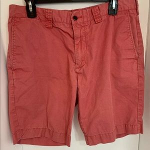 Polo Ralph Lauren Shorts 26 Pink/Faded Red Mens